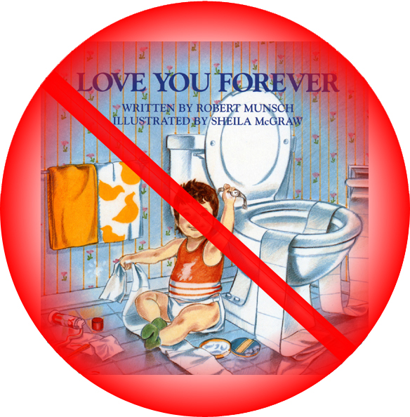 Love You Forever – World's creepiest children's book » Love You Forever is